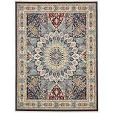 narenj adams navy blue 13 0 x 19 8 area rug
