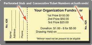 Raffles Tickets Raffle Tickets For Sale Custom Raffle Ticket Printing