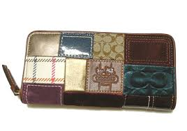 COACH   coach holiday patchwork large zip around wallet  40925B4MCfs3gm5P13oct13 a10P18Oct1310P28Oct13