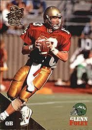 Amazon.com: 1994 Classic Gold #16 Glenn Foley NFL Football Trading Card:  Collectibles & Fine Art