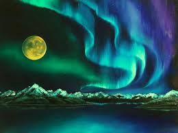 historical paintings of the northern lights northern lights