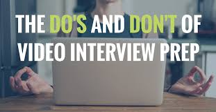 How To Do A Video Interview The Dos And Dont Of Video Interview Prep Betts Recruiting