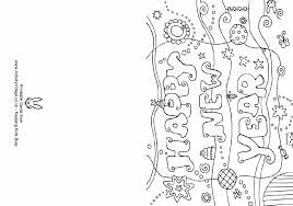 Happy New Year Greetings, Printable Coloring Pages and Worksheets ...