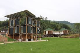 designing an energy efficient home. energy efficient bamboo house / studio cardenas conscious design, © lib \u2013 longquan international designing an home