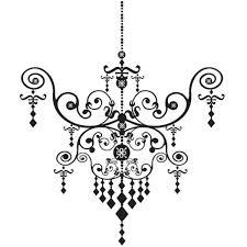 personalized princess chandelier custom font choice wall vinyl