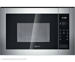 Kitchen Appliances Built In Neff H11we60n0g 800w Built In Microwave Oven Stainless Steel