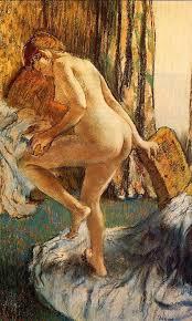 degas after the bath c 1883