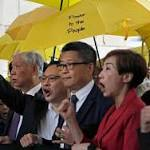 Hong Kong protest leaders warn of threat to civil rights
