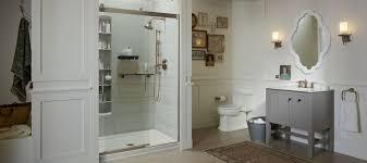 Glass For Bathroom Shower Doors Showering Bathroom Kohler