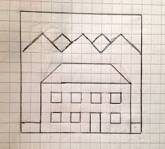 Graph Paper Drawings At Paintingvalley Com Explore