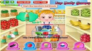 Baby Hazel In Kitchen Game For Little Babies level 1 - YouTube