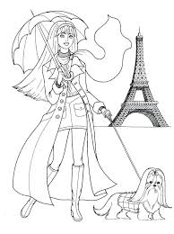 Fashion Coloring Sheets Fashion Coloring Pages Fashion Coloring