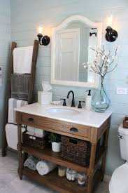 remarkable cottage style bathroom vanity with open shelves below cottage style bathroom ideas