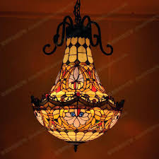 stylish tiffany chandelier inside decorative 9 light stained glass shade prepare 13