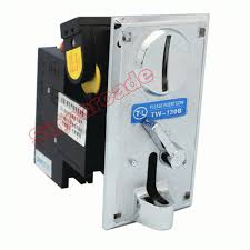 Game Vending Machines Enchanting Advanced Front Entry Single Coin Selector TW 48B Coin Acceptor For