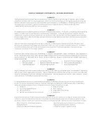 Resume Summary Statement Examples Colbroco Simple Resume Summary Statement Examples
