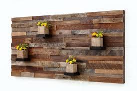 custom made wood wall art with wood shelves 48
