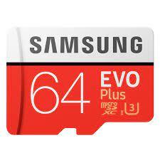 Thẻ Nhớ Micro SD Samsung Evo Plus 64GB Class 10 - Siêu Thị Chính Hãng Giá Rẻ