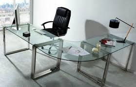 finest awesome artistic with glass desks with glass desks