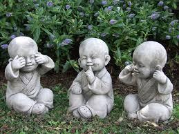 garden buddha. TIBETAN MONKS Perfectly Detailed Buddha Garden Statue.