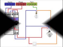 Schéma Electrique Détecteur De Présence Avec Interrupteur