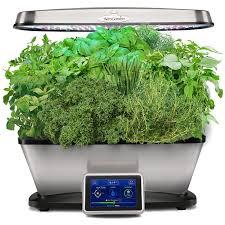 aero garden com. Beautiful Aero AeroGarden Bounty Elite WiFi With Gourmet Herb Seed Pod Kit Stainless  Amazonca Patio Lawn U0026 Garden And Aero Com R