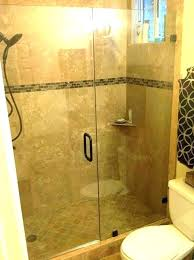 how much is a frameless shower door cost of shower doors how much does a glass