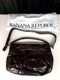banana republic leather handbag sling bag mrtpasirris women s fashion bags wallets handbags on carou