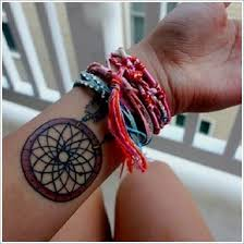 Dream Catcher Bracelet Meaning Gorgeous 32 Amazing Dreamcatcher Tattoos And Meanings