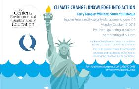 center for environmental and sustainability education 3 2016 florida gulf coast university s center for environmental and sustainability education hosted its annual terry tempest williams student