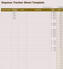 Spreadsheet Tracking Free Income And Expense Tracking Spreadsheet Templates