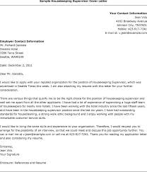housekeeper cover letter l   seangarrette cohousekeeper