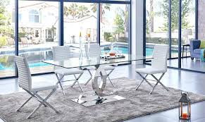 modern glass dining table. Delighful Dining Modern Glass Dining Table Set Round In D