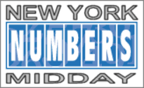 Pick 3 Frequency Chart New York Numbers Midday Frequency Chart For The Latest 100
