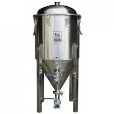 ss chronical half barrel 64l snless steel fermenter