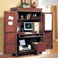 contemporary computer armoire desk computer armoire. Modern Desk Armoire Office Furniture Computer . Contemporary A
