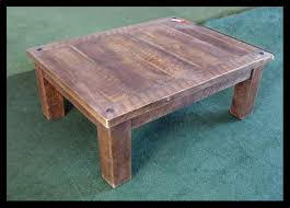 Coffee Table With Stools  Coffee Table With Clock, Coffee Table in Rustic  Barnwood Coffee