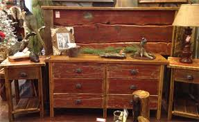 Reclaimed Colorado Red Barnwood Bedroom Furniture