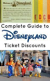 Discount Disneyland Ticket Deals 2021 ...