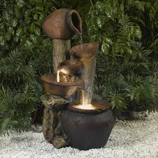 awesome garden fountains and water ponds