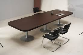 adorable office table design astounding appearance. Adorable Design Of The Modern Conference Table With Brown Wooden Countertops Added Two Leather Chairs Office Astounding Appearance E