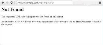 Fix 404 not found wp-admin or wp-login PHP error in WordPress - Ian ...