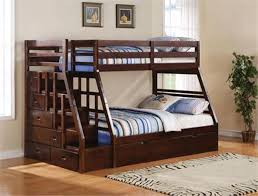 twin over full bunk bed with stairs. Twin Over Full Loft Bunk Bed With Stairs 3