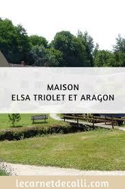 le site du musée maison triolet aragon