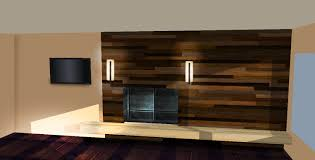 enjoyable modern living areas with wall lights fixtures hang on wood paneling ideas feat wide tv on flosting tv stands as well as dark wood floor decors