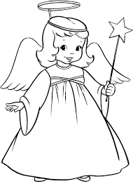Small Picture Coloring Page Angel Angel Coloring Pages nebulosabarcom