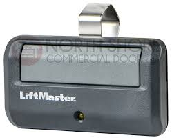 one touch entryway transmitter secures garage with rolling code technology myq compatibility and long lasting battery