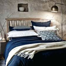 modern rustic bedding master bedroom bedding set modern rustic murmur still navy bed linen navy modern modern rustic bedding