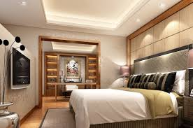 Master Bedroom Ceiling Decorations Elegant Bedroom Ceiling Idea With Smart Lighting