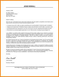 7 Executive Cover Letter Examples Offecial Letter